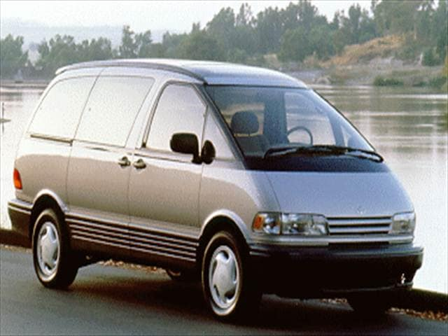 Most Fuel Efficient Vans/Minivans of 1994 - 1994 Toyota Previa