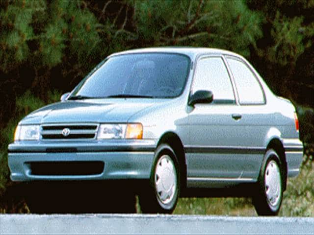 Most Fuel Efficient Sedans of 1994 - 1994 Toyota Tercel