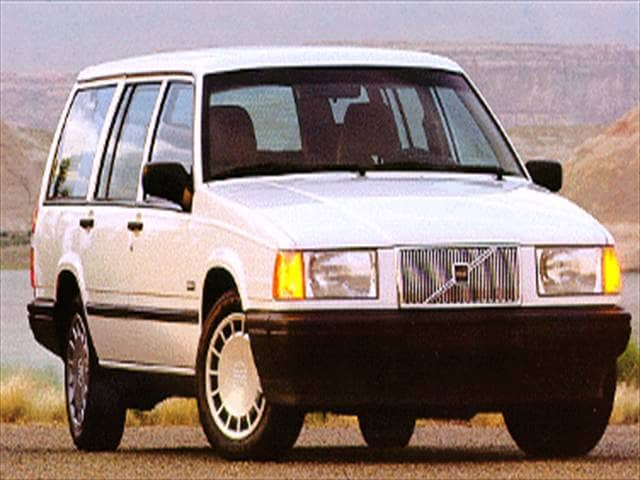 Top Consumer Rated Wagons of 1994 - 1994 Volvo 940