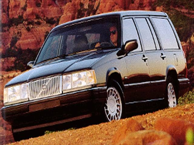 Top Consumer Rated Wagons of 1994 - 1994 Volvo 960