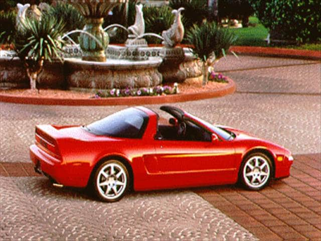 Highest Horsepower Convertibles of 1995 - 1995 Acura NSX