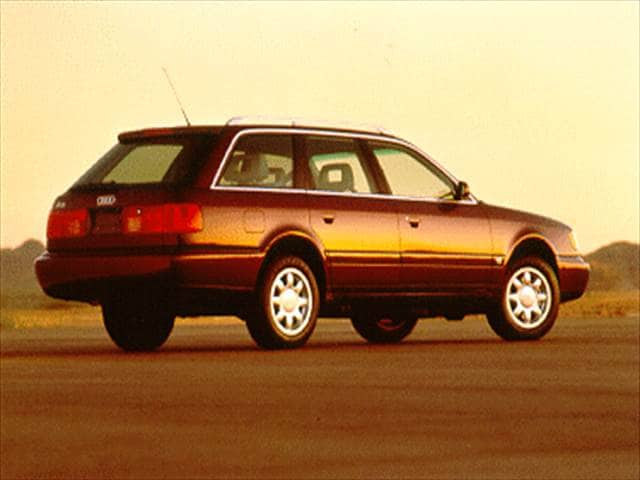 Top Consumer Rated Wagons of 1995 - 1995 Audi A6