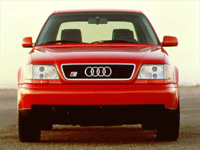 Top Consumer Rated Sedans of 1995 - 1995 Audi S6