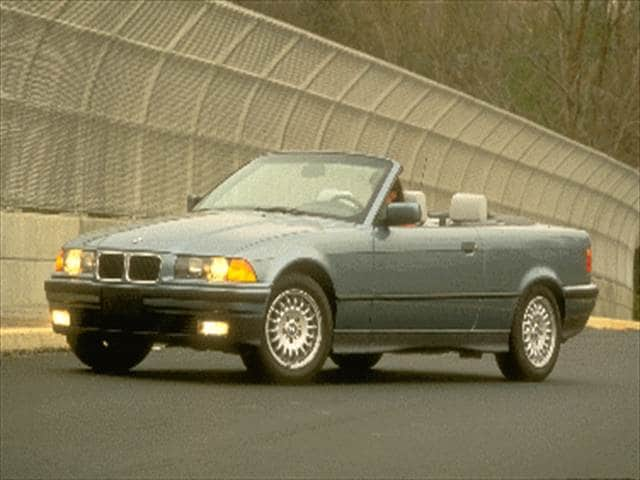 Most Fuel Efficient Convertibles of 1995 - 1995 BMW 3 Series
