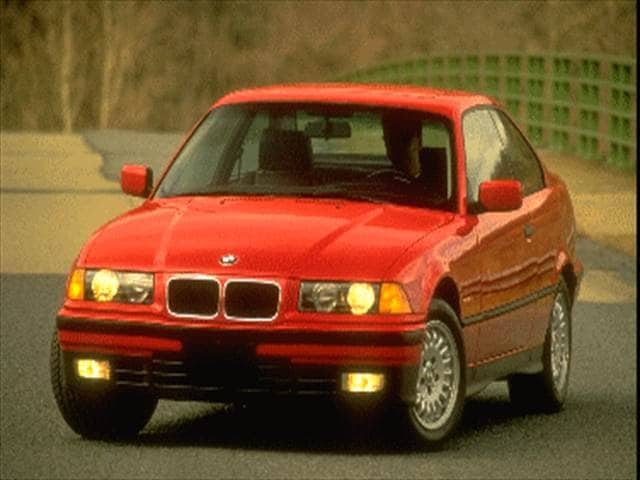Most Popular Luxury Vehicles of 1995 - 1995 BMW 3 Series
