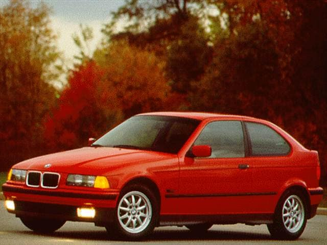 Most Popular Hatchbacks of 1995 - 1995 BMW 3 Series