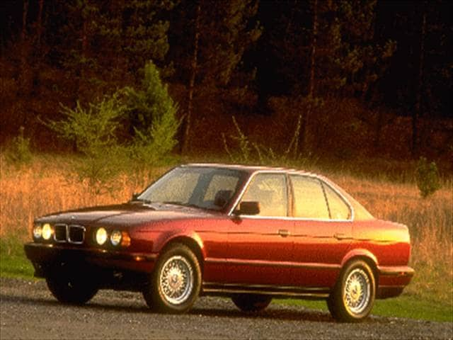 Highest Horsepower Luxury Vehicles of 1995 - 1995 BMW 5 Series