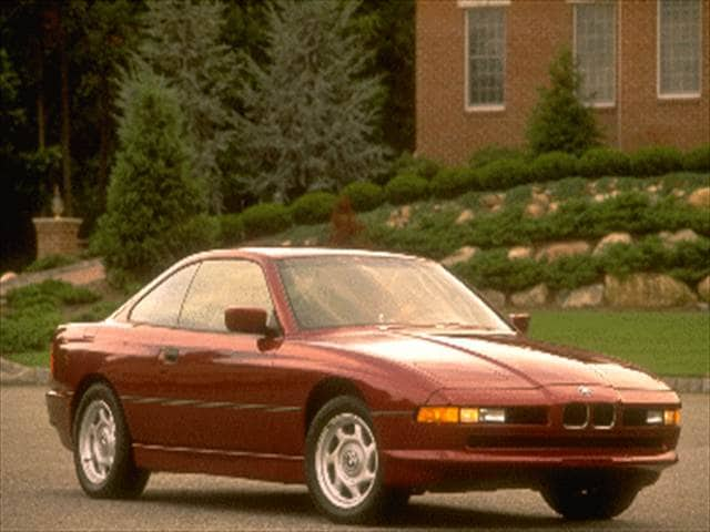 Top Consumer Rated Luxury Vehicles of 1995 - 1995 BMW 8 Series