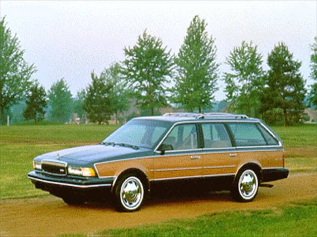 Most Popular Wagons of 1995 - 1995 Buick Century