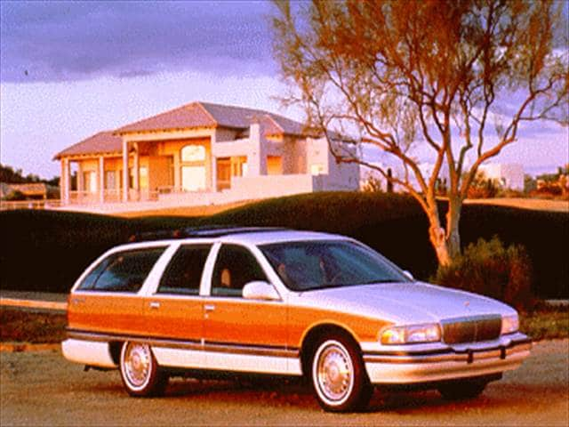 Highest Horsepower Wagons of 1995 - 1995 Buick Roadmaster