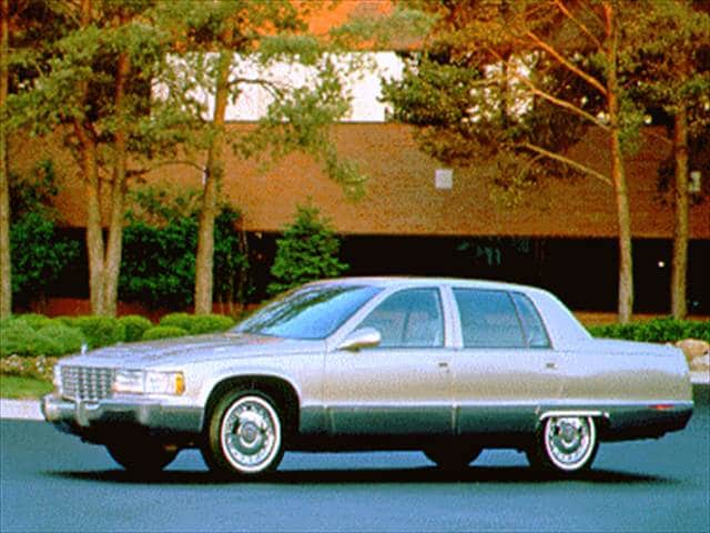 Top Consumer Rated Luxury Vehicles of 1995 - 1995 Cadillac Fleetwood