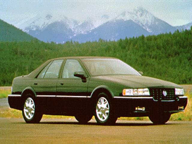 Highest Horsepower Sedans of 1995 - 1995 Cadillac Seville