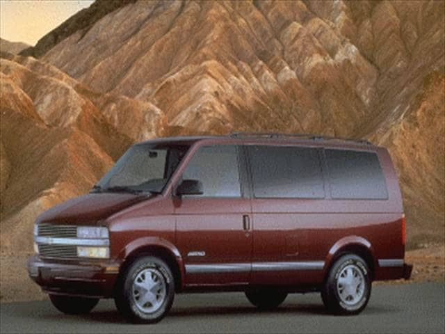 Most Popular Vans/Minivans of 1995 - 1995 Chevrolet Astro Passenger