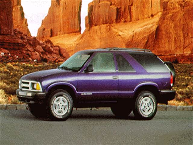 Highest Horsepower SUVs of 1995 - 1995 Chevrolet Blazer