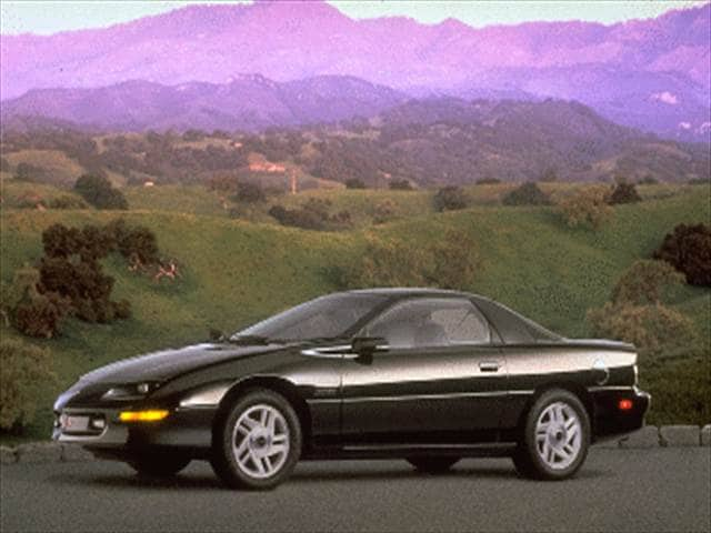 Most Popular Coupes of 1995 - 1995 Chevrolet Camaro