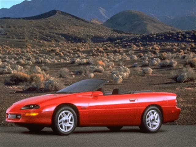 1995 Chevrolet Camaro Z28 Convertible 2d Used Car Prices Kelley Blue Book