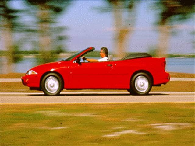 Most Popular Convertibles of 1995 - 1995 Chevrolet Cavalier