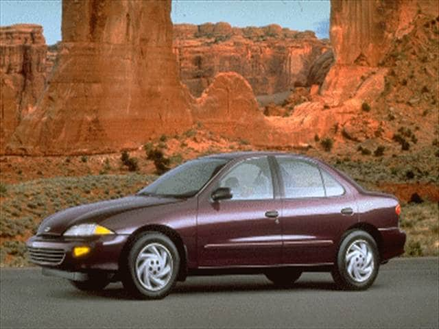 Most Popular Sedans of 1995 - 1995 Chevrolet Cavalier