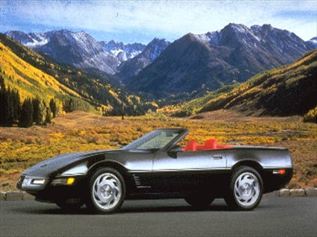 Most Popular Convertibles of 1995 - 1995 Chevrolet Corvette