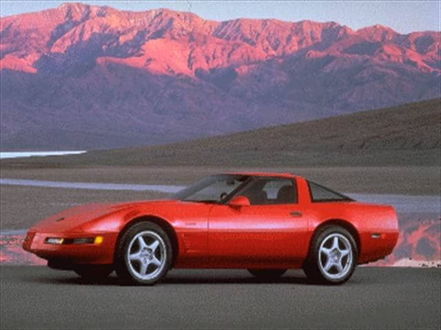 Most Popular Hatchbacks of 1995 - 1995 Chevrolet Corvette