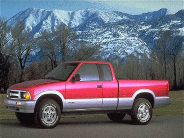 Most Popular Trucks of 1995 - 1995 Chevrolet S10 Extended Cab