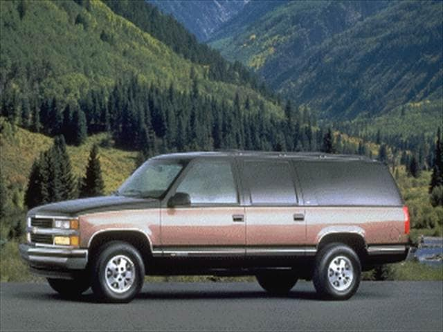 Top Consumer Rated SUVs of 1995 - 1995 Chevrolet Suburban 1500