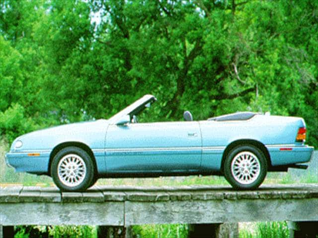 Most Fuel Efficient Convertibles of 1995 - 1995 Chrysler LeBaron