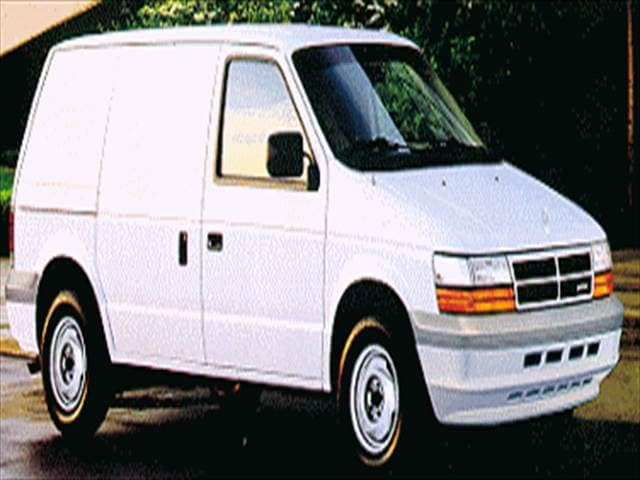 Most Fuel Efficient Vans/Minivans of 1995 - 1995 Dodge Caravan Cargo