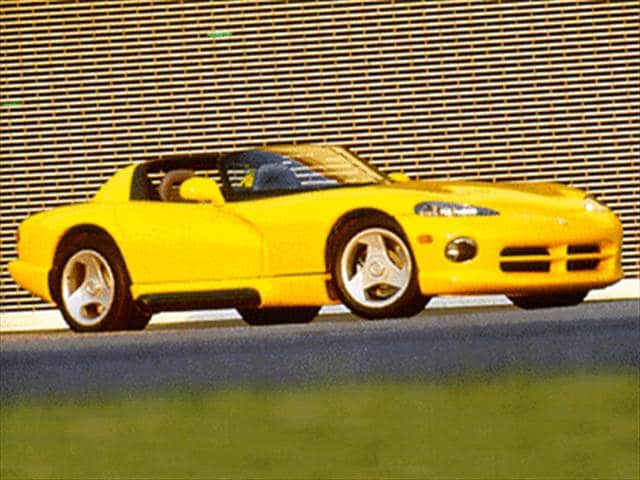 Top Consumer Rated Convertibles of 1995 - 1995 Dodge Viper