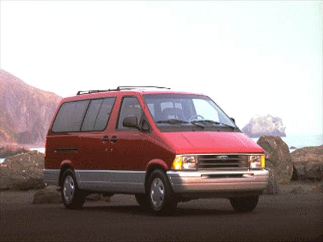 Most Fuel Efficient Vans/Minivans of 1995 - 1995 Ford Aerostar Passenger