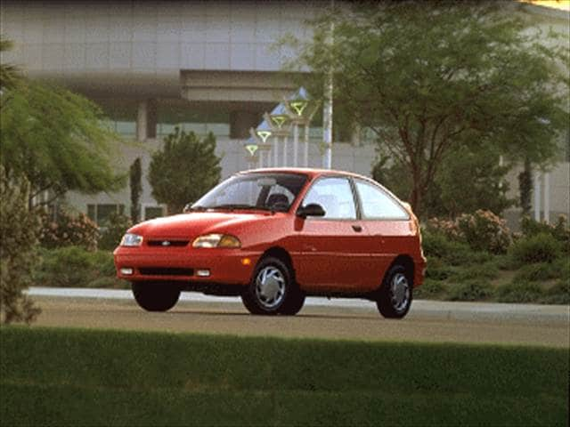 Most Fuel Efficient Hatchbacks of 1995 - 1995 Ford Aspire