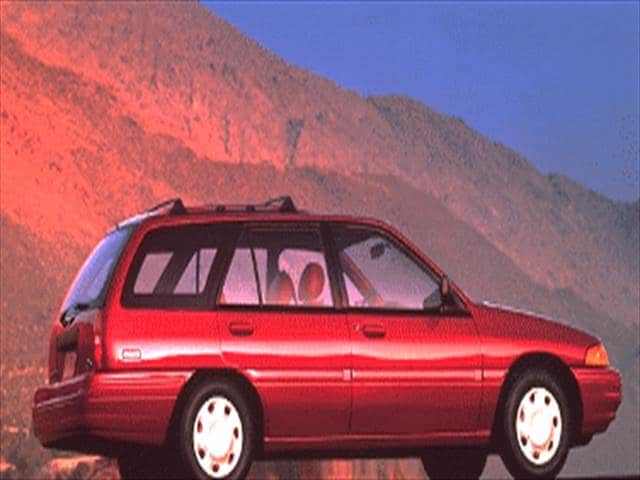 Most Fuel Efficient Wagons of 1995 - 1995 Ford Escort