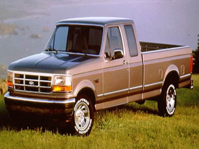 Top Consumer Rated Trucks of 1995 - 1995 Ford F250 Super Cab