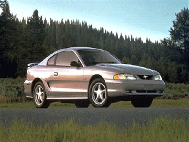 Most Popular Coupes of 1995 - 1995 Ford Mustang