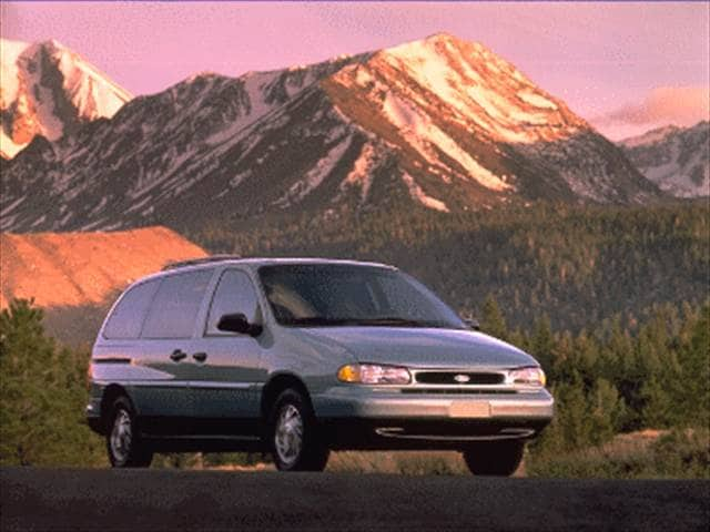 Most Popular Vans/Minivans of 1995 - 1995 Ford Windstar Passenger