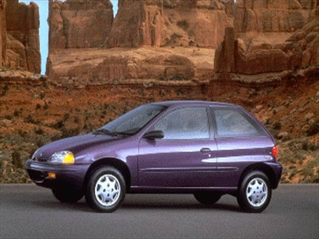 Most Fuel Efficient Hatchbacks of 1995 - 1995 Geo Metro