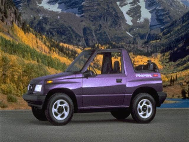 1995 Geo Tracker Blue | 200+ Interior and Exterior Images