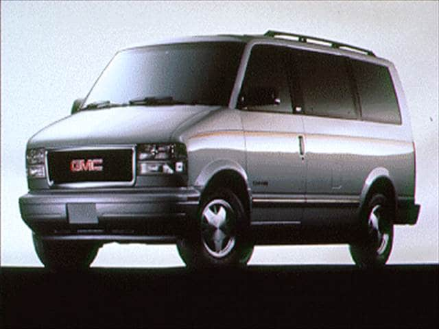 Most Popular Vans/Minivans of 1995 - 1995 GMC Safari Passenger