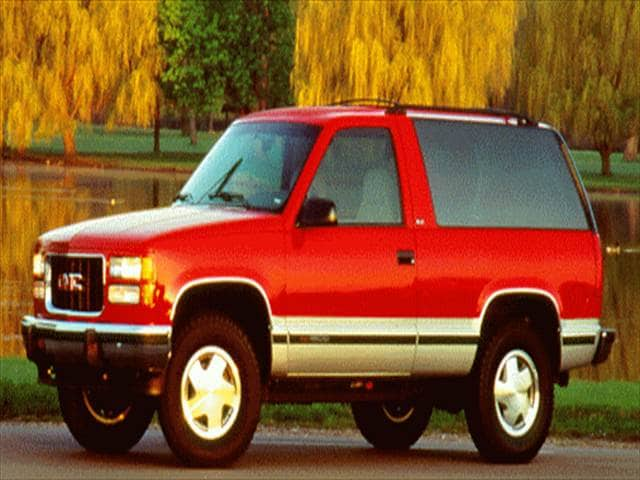 Highest Horsepower SUVs of 1995 - 1995 GMC Yukon