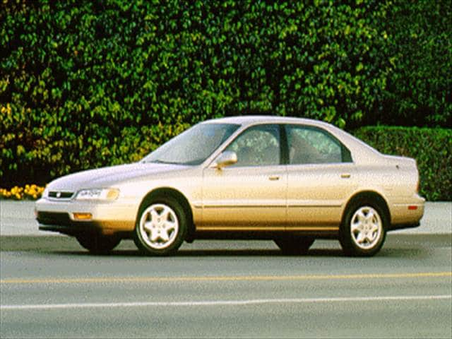 Most Popular Sedans of 1995 - 1995 Honda Accord