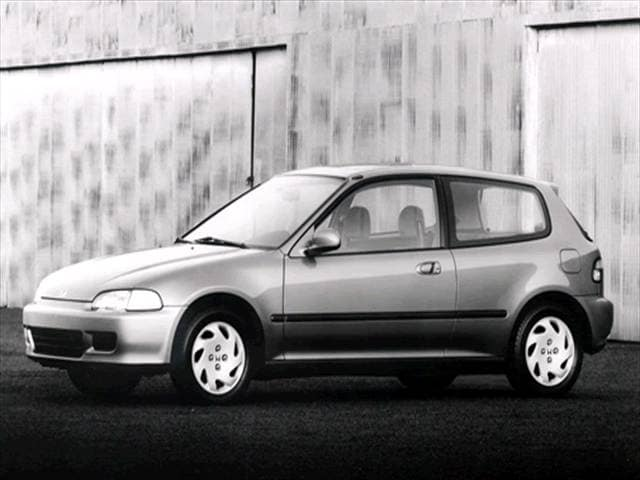 Most Popular Coupes of 1995 - 1995 Honda Civic