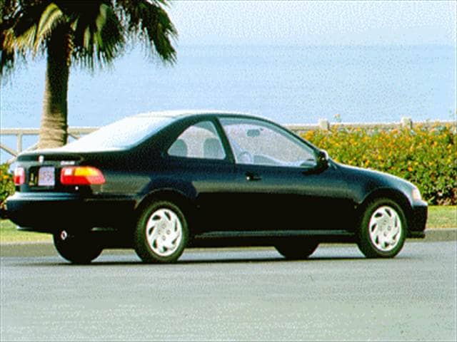 Used 1995 Honda Civic Ex Coupe 2d Pricing
