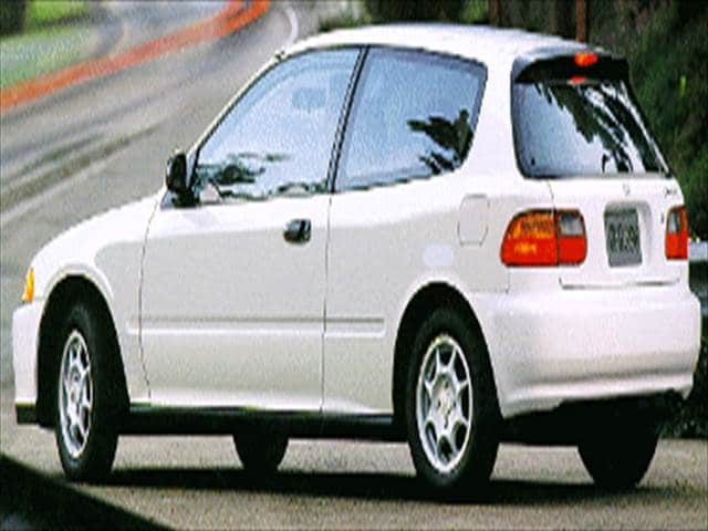 Most Fuel Efficient Hatchbacks of 1995 - 1995 Honda Civic