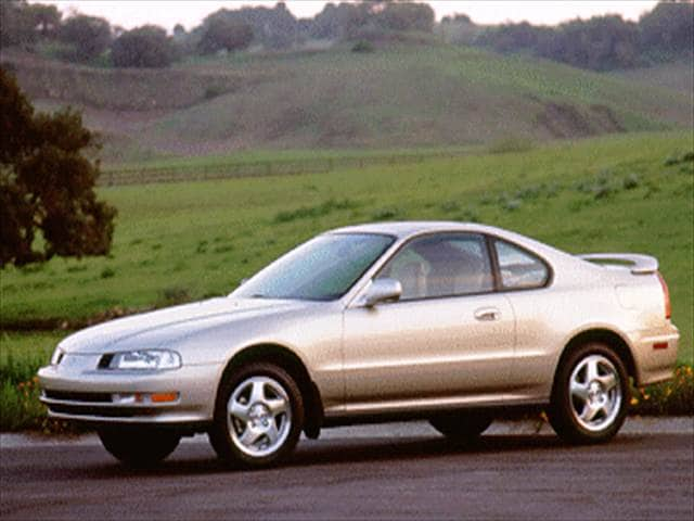 Top Consumer Rated Coupes of 1995 - 1995 Honda Prelude