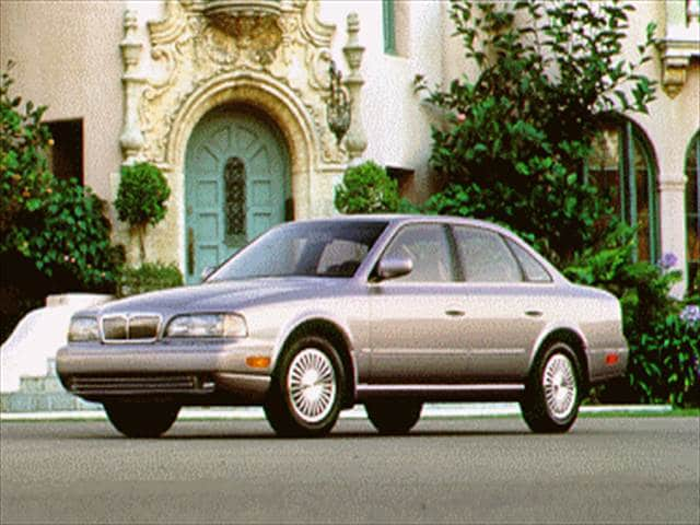 Highest Horsepower Luxury Vehicles of 1995 - 1995 INFINITI Q
