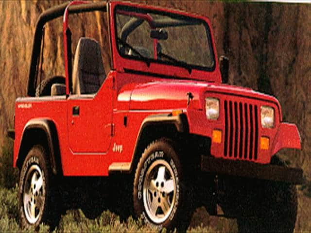 Most Popular SUVs of 1995 - 1995 Jeep Wrangler