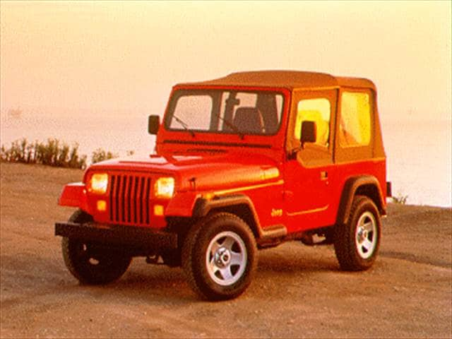 Most Fuel Efficient SUVs of 1995 - 1995 Jeep Wrangler