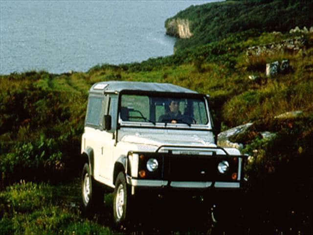Top Consumer Rated SUVs of 1995 - 1995 Land Rover Defender 90
