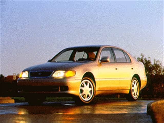 Top Consumer Rated Luxury Vehicles of 1995 - 1995 Lexus GS