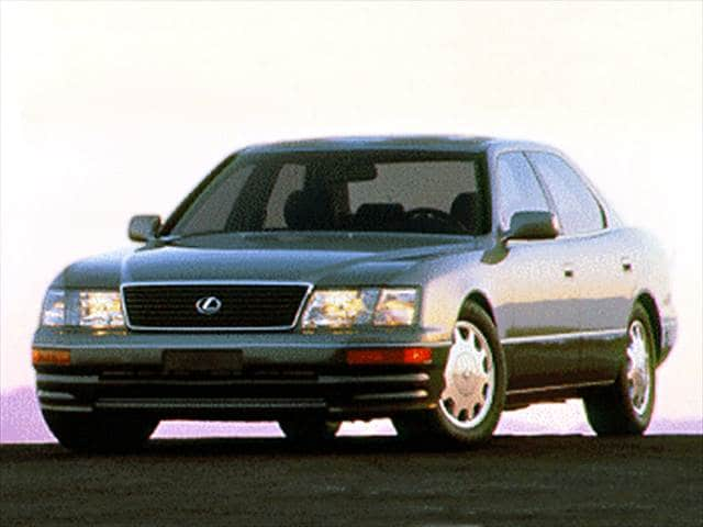 Top Consumer Rated Luxury Vehicles of 1995 - 1995 Lexus LS